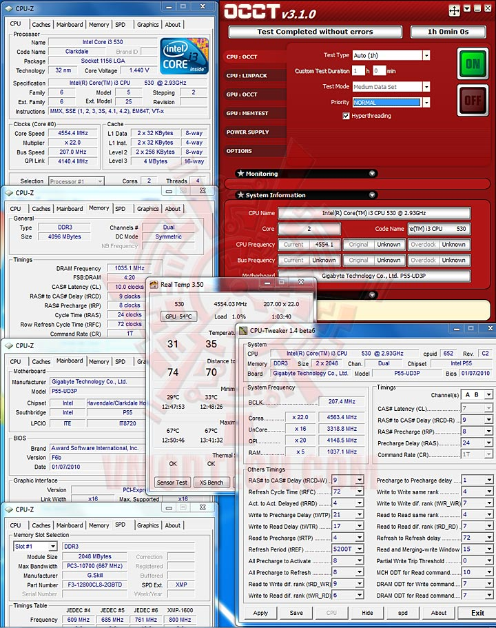 occt Core i3 & Core i5 32nm with DDR2000+??