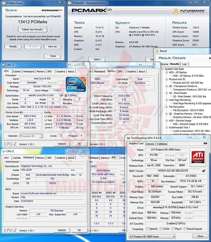 pcm05 Core i3 & Core i5 32nm with DDR2000+??
