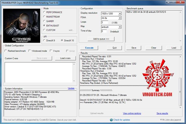 warhead DFI LANPARTY DK 790FXB M3H5 +965 BE Rev.C3 Full Review