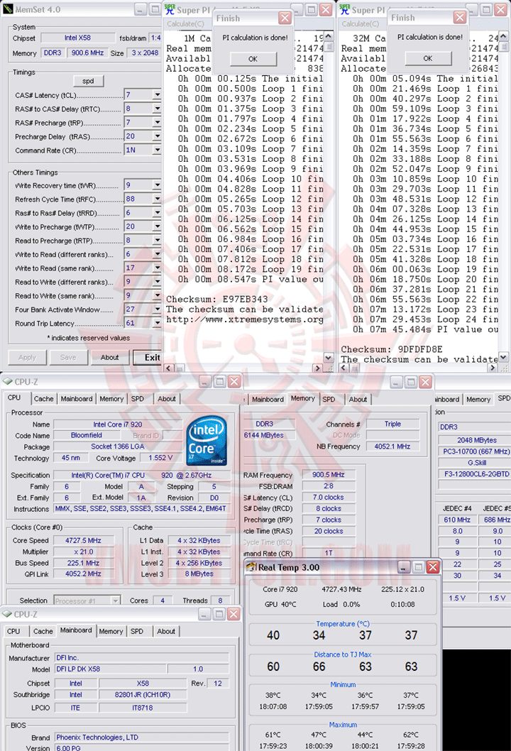 32m1 225 DFI LANParty DK X58 T3eH6