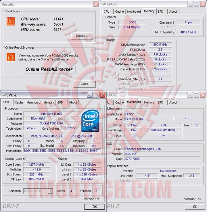 pcm02 225 DFI LANParty DK X58 T3eH6