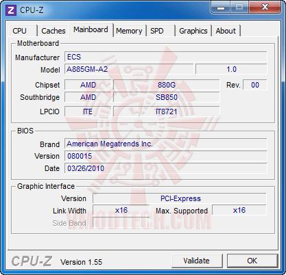 c3 ECS A885GM A2 AM3 Motherboard Review