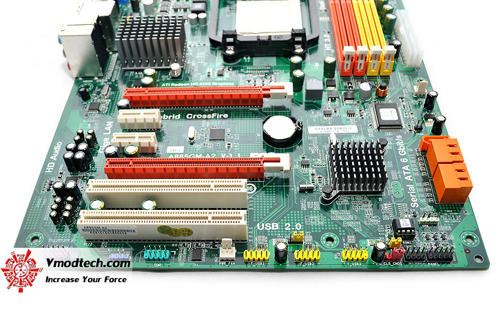 dsc 0131 ECS A885GM A2 AM3 Motherboard Review