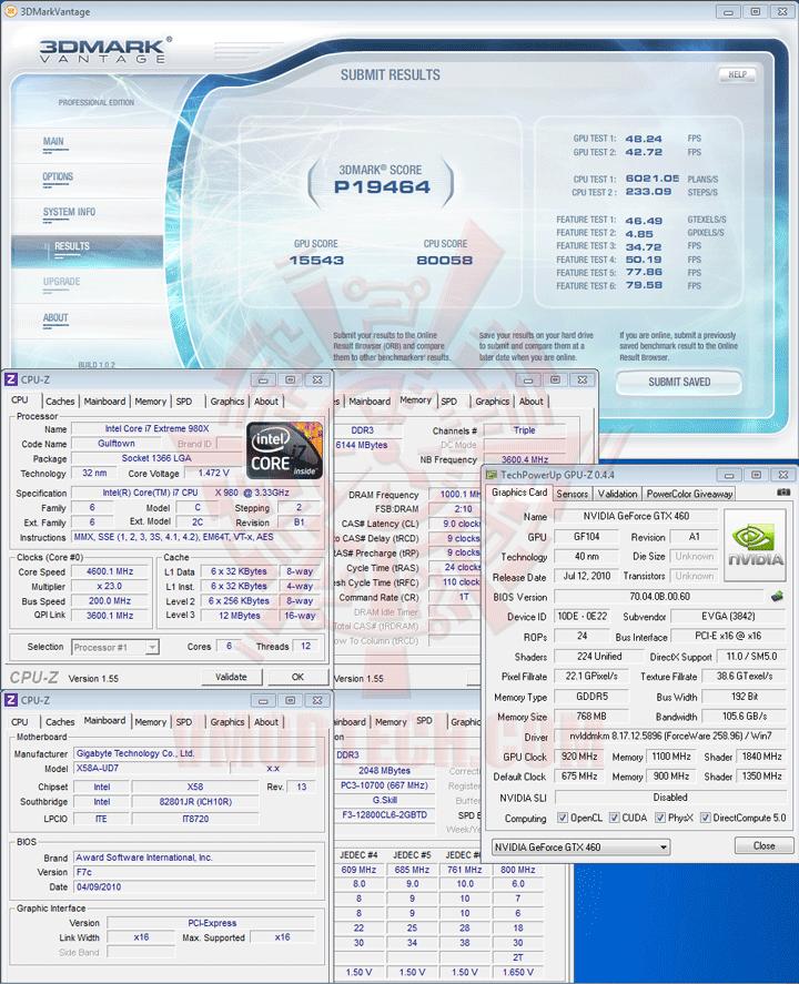 07p ov EVGA GeForce GTX 460 768MB GDDR5 Review