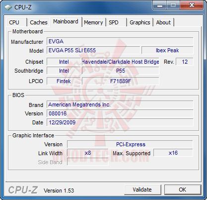 c3 EVGA P55 SLI E655 + Core i3 530 : Review