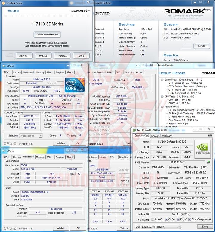 03 sli EVGA X58 3X SLI : Review