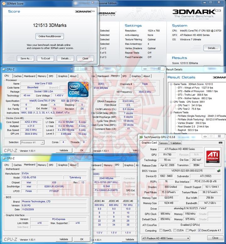 03 EVGA X58 3X SLI : Review