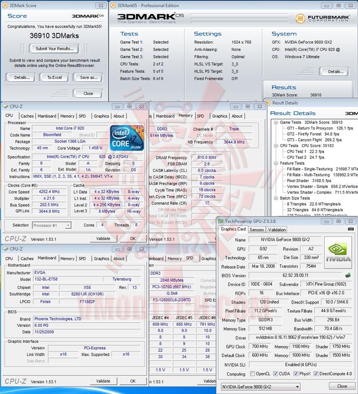 05 sli EVGA X58 3X SLI : Review