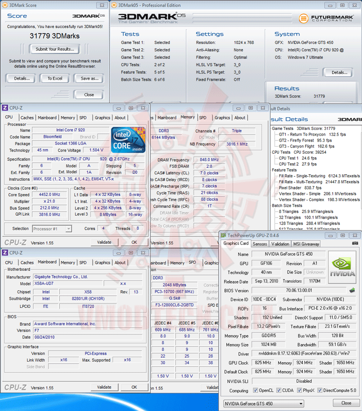 05 df GALAXY GeForce GTS 450 GC VERSION 1GB GDDR5 Review