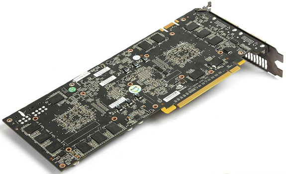 GALAXY GeForce GTX 295 single PCB