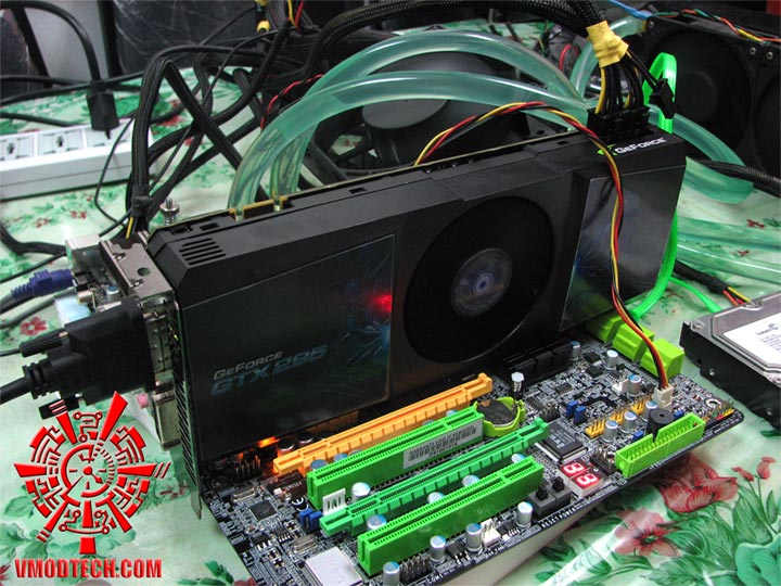 setup GALAXY GeForce GTX 295 single PCB