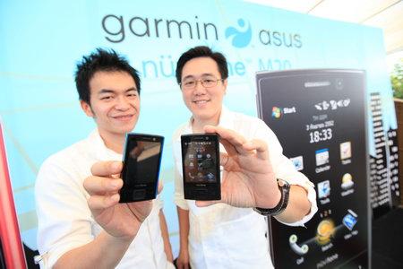 garmin asus อัสซุส ผนึก การ์มิน ลุยตลาดพีดีเอโฟน