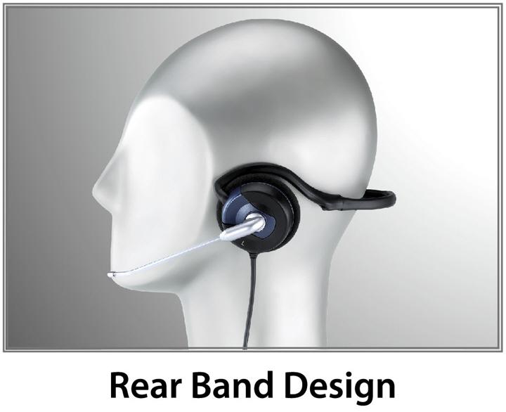 hs 300n 3 Genius HS 300N หูฟัง rear band สำหรับนักแชทออนไลน์