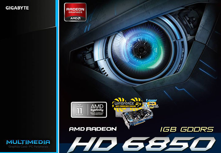 r685d5 1gd GIGABYTE AMD Radeon HD 6850 1GB GDDR5 Review