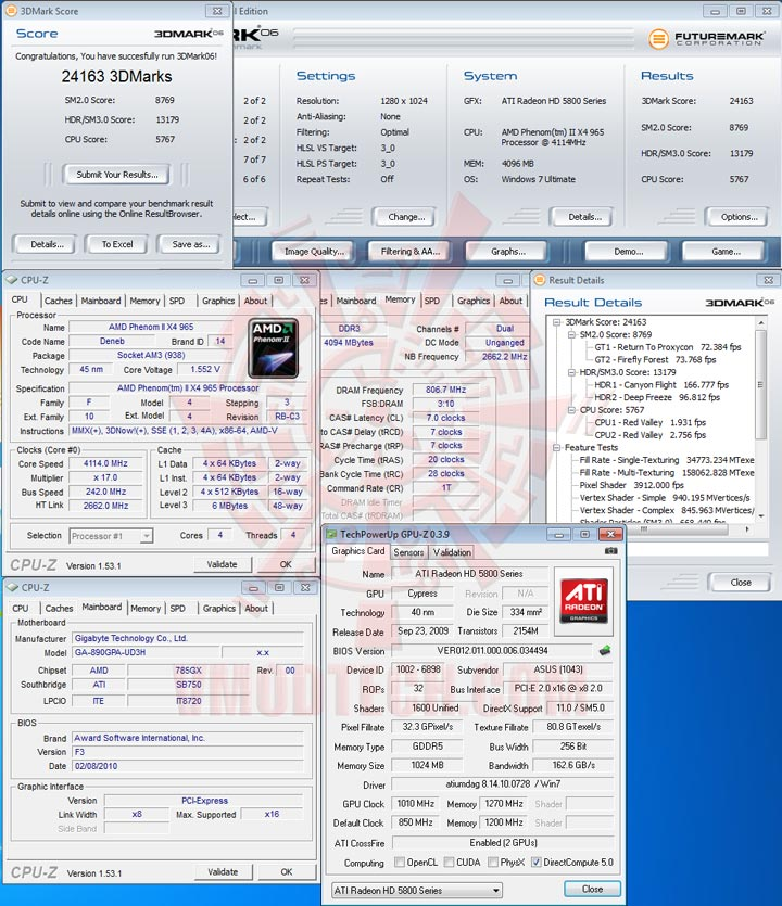 06 GIGABYTE GA 890GPA UD3H AMD 890GX Chipset Review