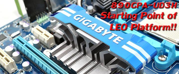 890gpa ud3h 1 GIGABYTE GA 890GPA UD3H AMD 890GX Chipset Review