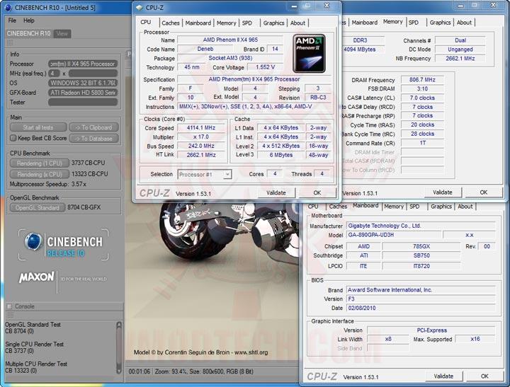 cb10 GIGABYTE GA 890GPA UD3H AMD 890GX Chipset Review