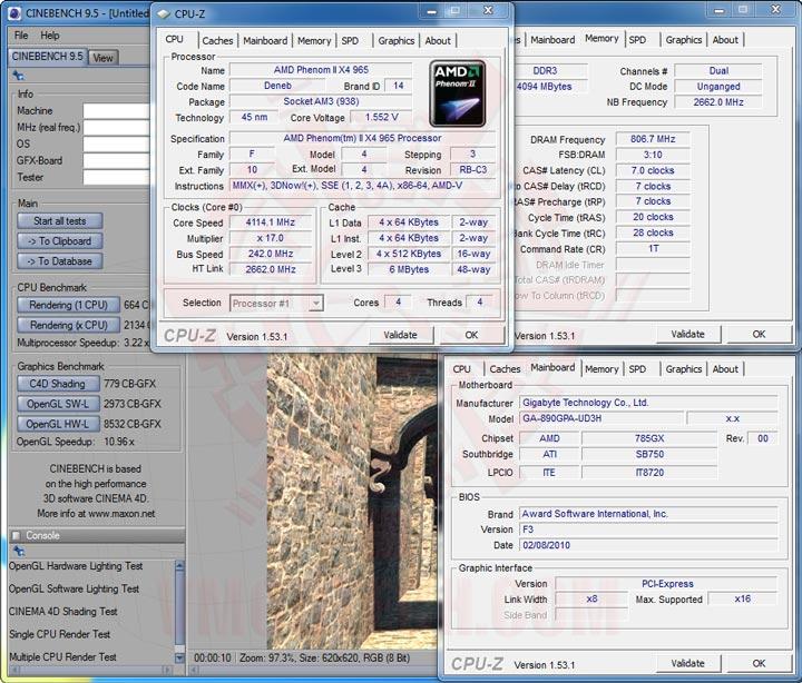 cb95 GIGABYTE GA 890GPA UD3H AMD 890GX Chipset Review