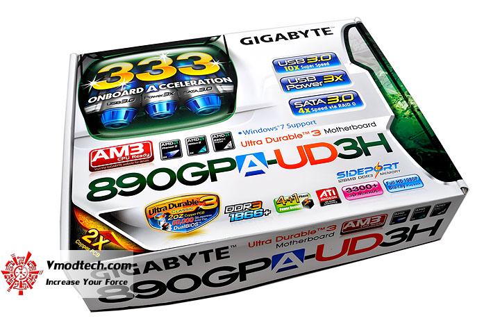dsc 0044 GIGABYTE GA 890GPA UD3H AMD 890GX Chipset Review