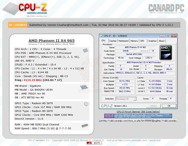 validate GIGABYTE GA 890GPA UD3H AMD 890GX Chipset Review