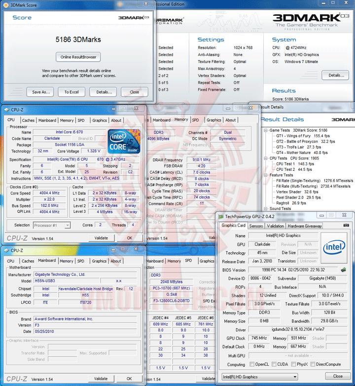 03 GIGABYTE GA H55N USB3 Mini ITX Motherboard Review