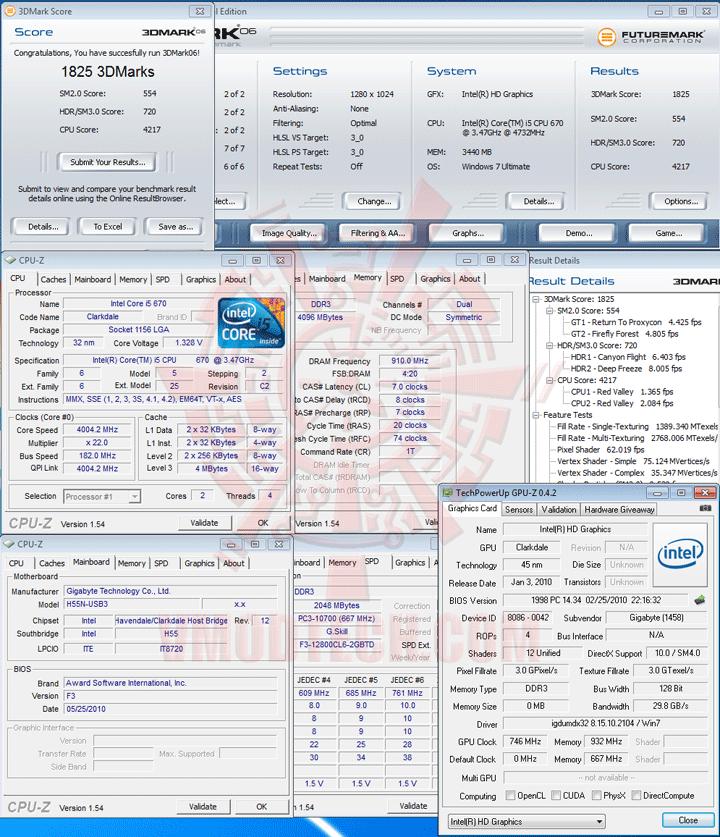 06 GIGABYTE GA H55N USB3 Mini ITX Motherboard Review