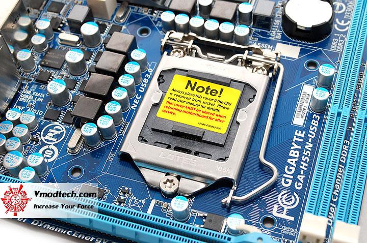 หน้าที่ 1 - GIGABYTE GA-H55N-USB3 Mini-ITX Motherboard Review