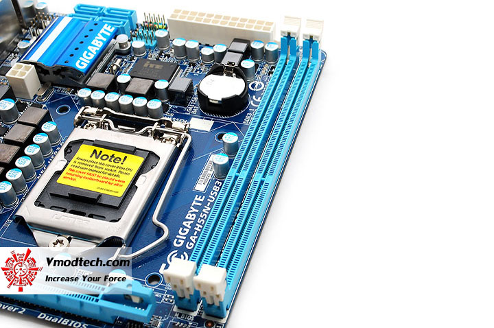 dsc 0574 GIGABYTE GA H55N USB3 Mini ITX Motherboard Review