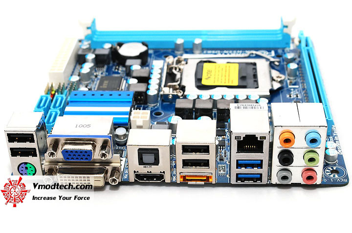 dsc 0588 GIGABYTE GA H55N USB3 Mini ITX Motherboard Review