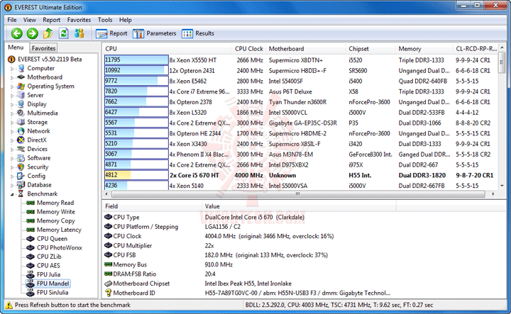 e7 GIGABYTE GA H55N USB3 Mini ITX Motherboard Review