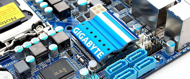 head GIGABYTE GA H55N USB3 Mini ITX Motherboard Review