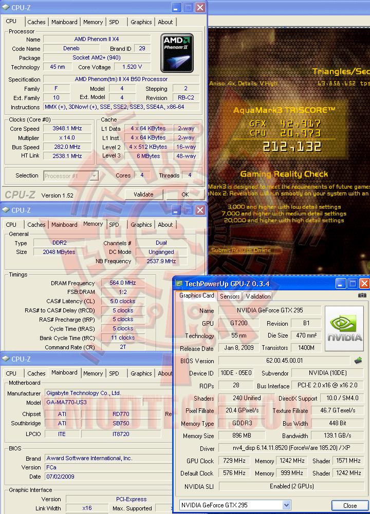 aq 3948 ระเบิดหัว PhenomII X2 550BE ไปกับ GIGABYTE GA MA770 US3 REV. 2.0