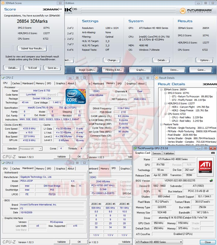 06 GIGABYTE GA P55A UD3P Full Benchmark Review