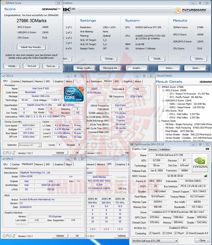 06 GIGABYTE GA X58A UD3R : Review