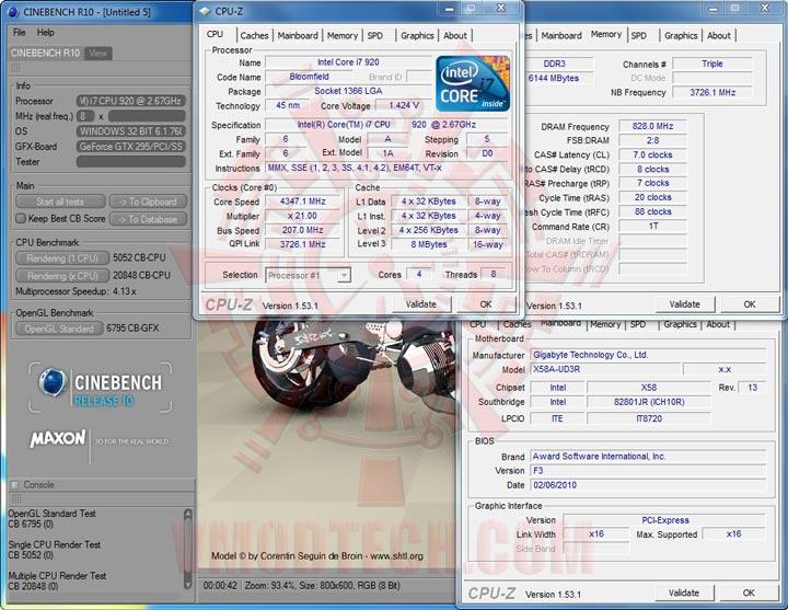 cb10 GIGABYTE GA X58A UD3R : Review