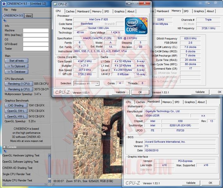 cb95 GIGABYTE GA X58A UD3R : Review