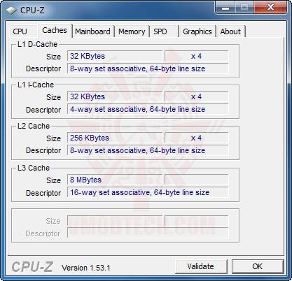 cpuz2 GIGABYTE GA X58A UD3R : Review