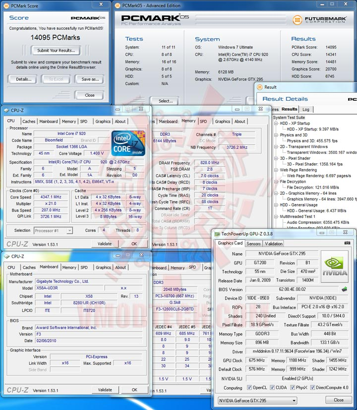 pcm05 GIGABYTE GA X58A UD3R : Review