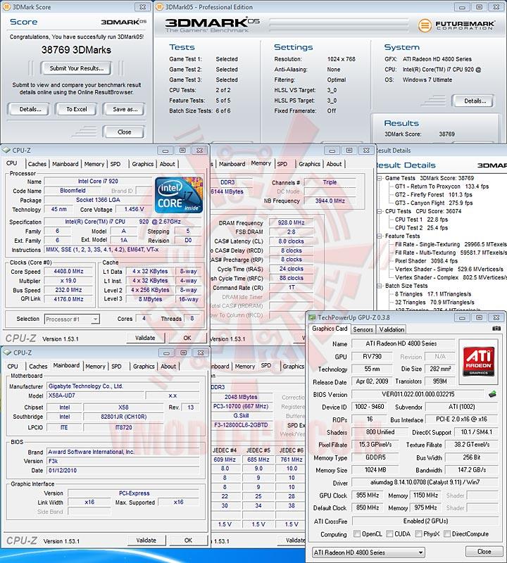 05 GIGABYTE GA X58A UD7 : X58 SLGMX Chipset!!