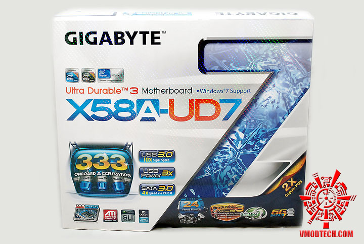 dsc 7899 GIGABYTE GA X58A UD7 : X58 SLGMX Chipset!!