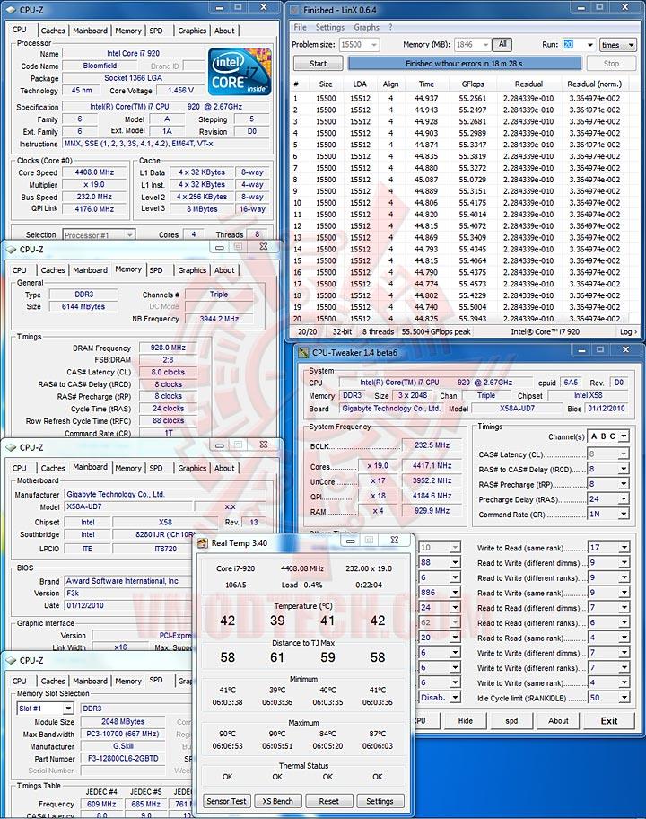 linx 232x GIGABYTE GA X58A UD7 : X58 SLGMX Chipset!!
