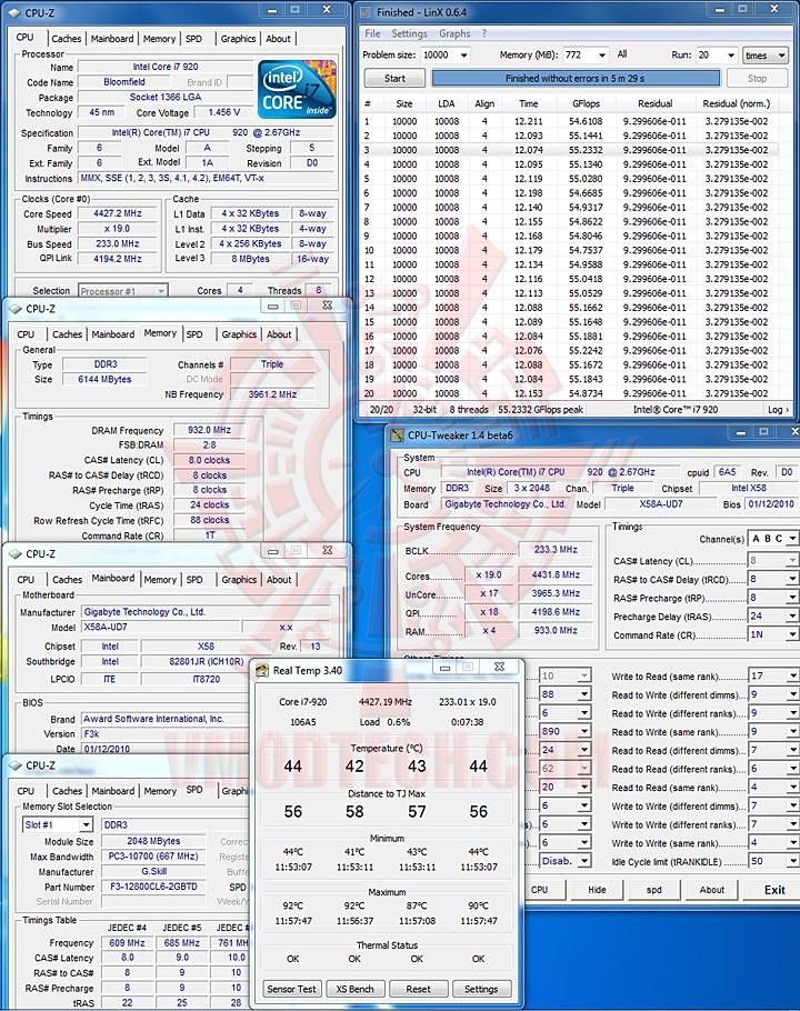 linx 233 GIGABYTE GA X58A UD7 : X58 SLGMX Chipset!!