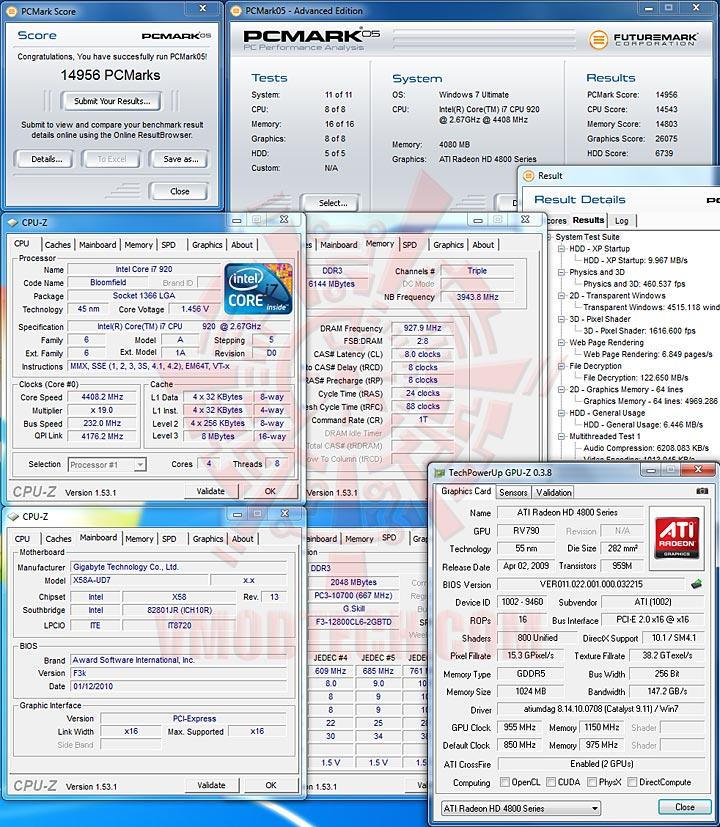 pcm05 GIGABYTE GA X58A UD7 : X58 SLGMX Chipset!!