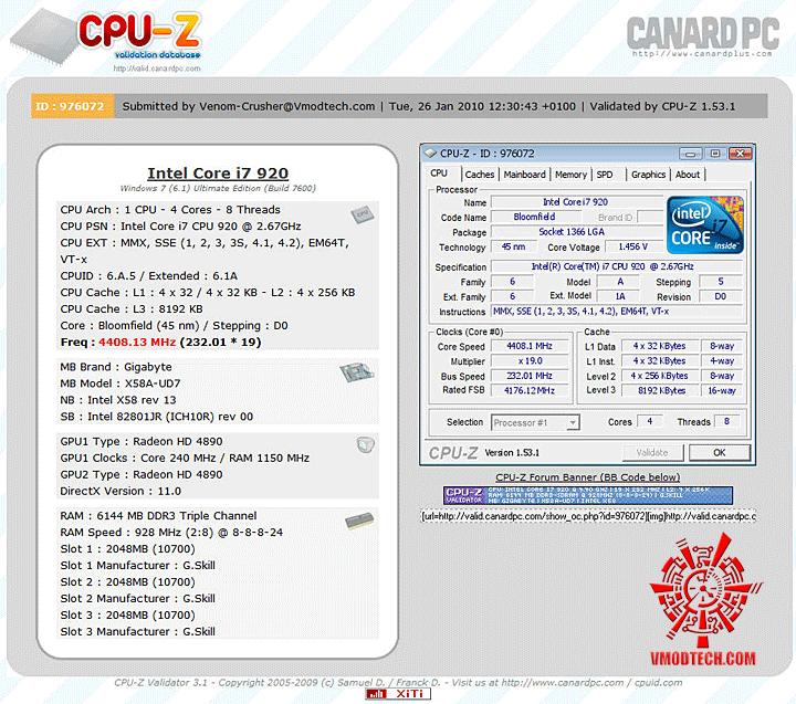validate GIGABYTE GA X58A UD7 : X58 SLGMX Chipset!!