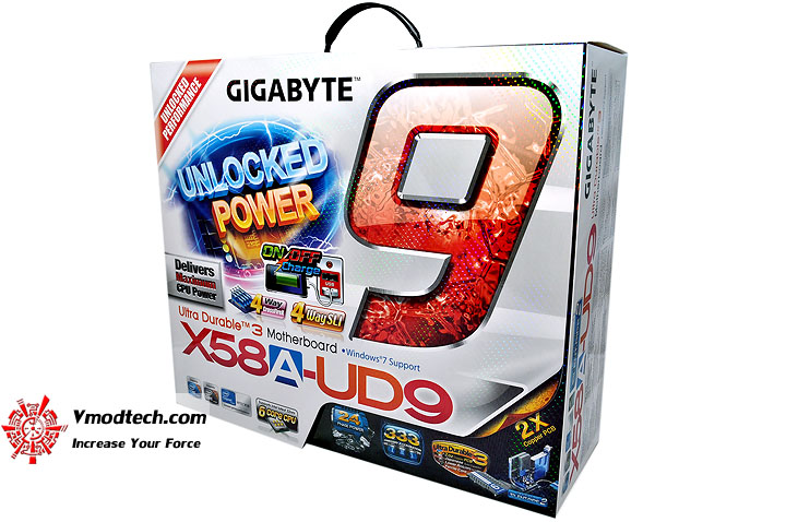 dsc 0001 GIGABYTE GA X58A UD9 XL ATX Motherboard Review