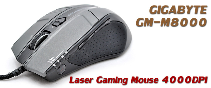 gm m8000 1 GIGABYTE GM M8000 GHOST Gaming Mouse