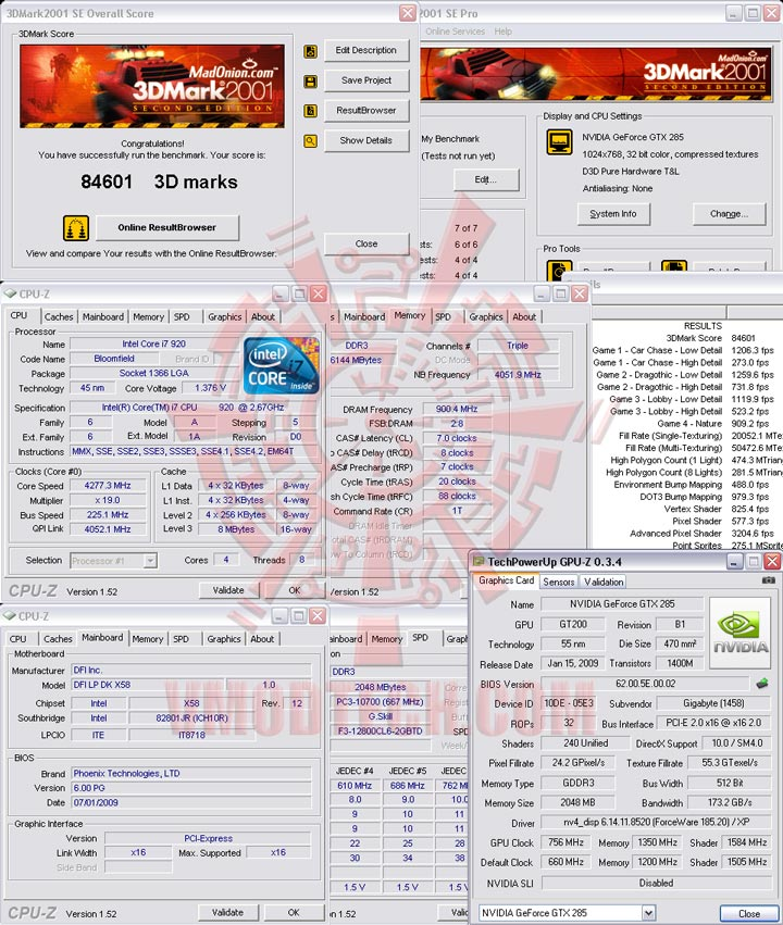 01oc GIGABYTE GTX285 2GB DDR3 2oz Copper PCB