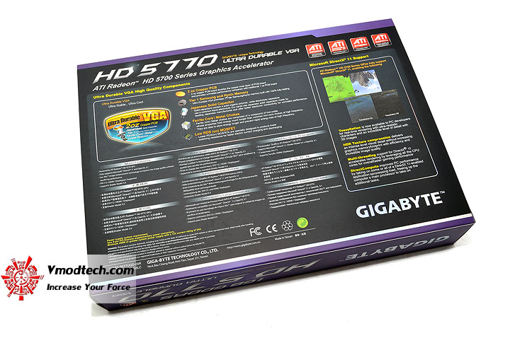 dsc 0141 GIGABYTE HD 5770 1024MB DDR5 Review