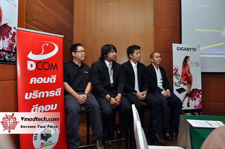 dsc 0009 เปิดตัวอย่างเป็นทางการกับ GIGABYTE Notebook 4 รุ่นใหม่ล่าสุด บุกตลาดเมืองไทย พร้อมตั้งบริษัท ดีคอม เป็นผู้จัดจำหน่ายแต่เพียงรายเดียวในประเทศไทย