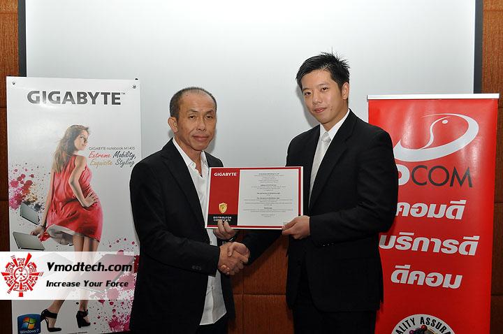 dsc 0013 เปิดตัวอย่างเป็นทางการกับ GIGABYTE Notebook 4 รุ่นใหม่ล่าสุด บุกตลาดเมืองไทย พร้อมตั้งบริษัท ดีคอม เป็นผู้จัดจำหน่ายแต่เพียงรายเดียวในประเทศไทย